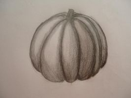The Pencil Pumpkin by traceybrechner