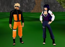 Hinata And Naruto 1 by dragonzero1980
