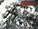Ultron vs Avengers inked 2016 by Ace-Continuado