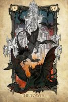 Tarot: The Tower by SceithAilm