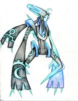 Ancient Alien Deoxys - Nocturnus by winddragon24