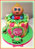 Cabbage Patch Kids Cake! by gertygetsgangster