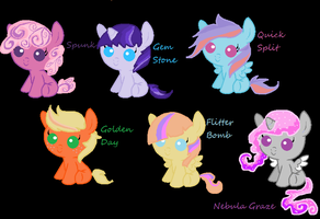 DTA Twilight Sparkle foals by Astrumia