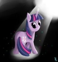Little proud Twilight Sparkle by PinkieCupcake