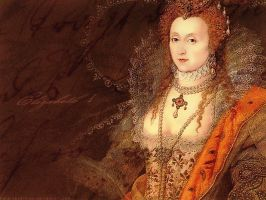 :: Queen Elizabeth I :: by RafkinsWarning
