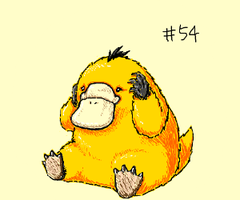 Psyduck by eys123