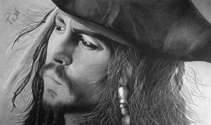 Johnny Depp - Jack Sparrow by MojitoIce