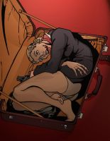 Dead Stewardess in a Suitcase by EyeDraw78