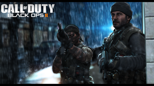 Black ops 2 :: Alex Mason and Woods by HardRainer