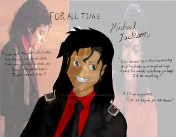 Michael Jackson For All Time ( Completed ) by AngelMaria89