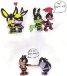 Chibi Loonatics Unleashed by KessieLou