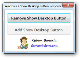 7 Show Desktop Button Remover by Kishan-Bagaria