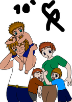 Sims Family by cmr-1990