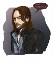 Ichabod - How Fortuitous. by rositamarie