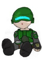Chibi Marine Colored by perfectionsflaw