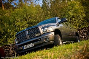 Dodge Ram by AmericanMuscle