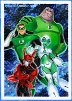 Green Lantern TAS 4 by syrusbLiz