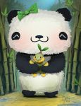 Panda and Turtwig by Spartan0627