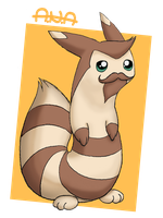 Yogemon - Furret Sjin by RatherPeculiar