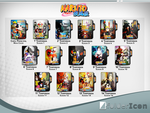 Naruto Shippuden Icon Pack by GianMendes
