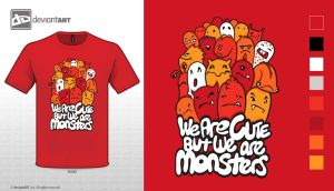 We are cut but monsters by Asraul