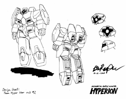 Hyperion design sheet 2 by illogictree