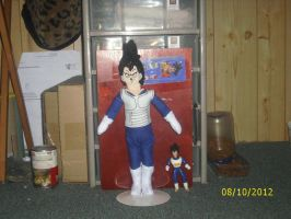 Vegeta Doll Commission 2 by Iziume89