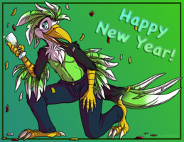 NYOP Commission: Happy New Year by SombraStudio
