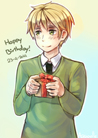 Happybirthday Arthur by Aquaelle