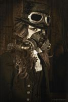 Steam Punk II OLD PRINT by gregd-photography