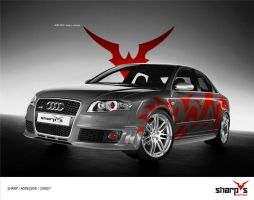 RS4 - Sharp S Concept 'Gv' by system-s