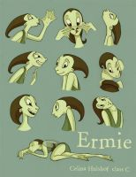 Ermie Expressions by concentriccookies