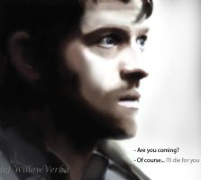 Destiel 5.04 by WillowVerba