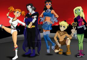 Teen Titans: The Second Generation by Madness-Made-Fresh