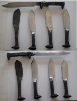 RailRoad Spike knives by BROKENHILL
