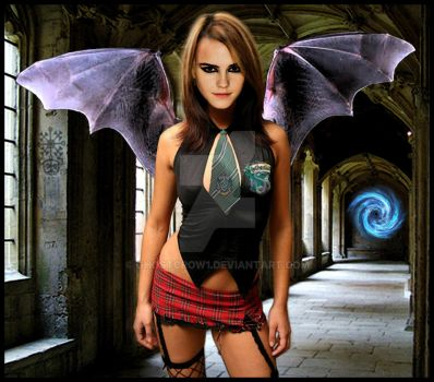 Goetia Girls: Succubus Witch Hermione Granger by GHOSTCROW1