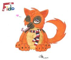 x-mas gift for Fido by BlueLumi