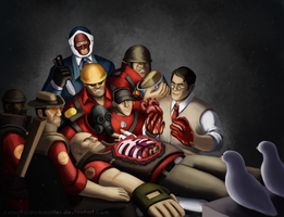 The Anatomy Lesson of the Medic by CelestialDarkMatter