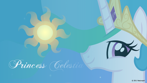 Princess Celestia Headshot wallpaper by nsaiuvqart