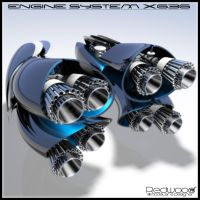 Engine System X636 by REDWOOD3D