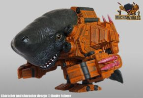 Mechawhale painted prototype by hauke3000