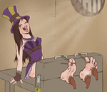 Cait Tickled by wtfeather