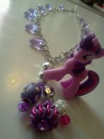 Twilight Sparkle Inspired Necklace by CorterMoon