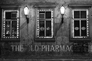 Old pharmacy by TanBekdemir