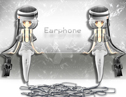 Earphone by exaxAnami