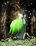 Forest fairy by Scarredhuntress