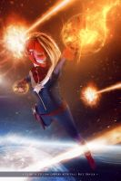 Captain Marvel - Marvel Comics by WhiteLemon