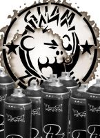 Logo and Spray Cans by Guam-Zombie