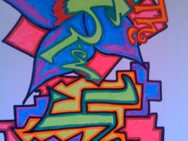 graff tags by arevolutionarydevice