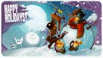Holiday Greetings 2012 by SkiddMcMarxx